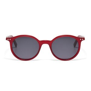 NEW Celine acetate red round timeless sunglasses